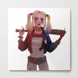 Harley Quinn Metal Print