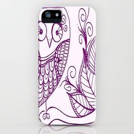 Ms. Owl iPhone Case