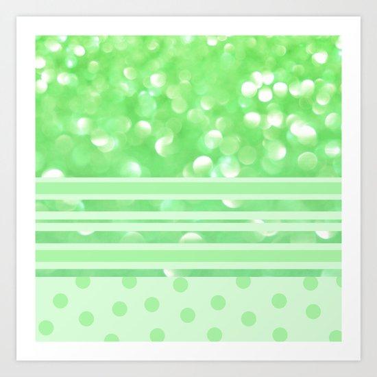 Key Lime Sherbet Art Print