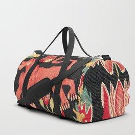 Agedyna Swedish Skåne Province Carriage Cushion Print Duffle Bag