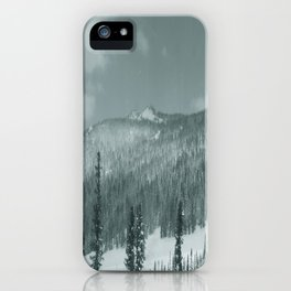 Winter day 28 iPhone Case