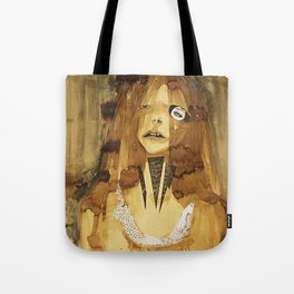she was here Tote Bag
