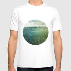 Vagues Jumelles Mens Fitted Tee White MEDIUM