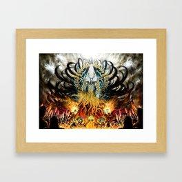 God of Treachery Framed Art Print