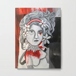 bloodshot Metal Print