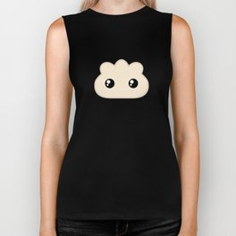 Pocket Pork Dumpling Biker Tank