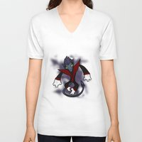nightcrawler V-neck T-shirts featuring Nightcrawler by Twisted Dredz