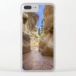 At the End of the Canyon - Grand Staircase of the Escalante - Utah Clear iPhone Case