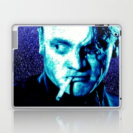 James Cagney, blue Madness. Laptop & iPad Skin