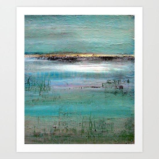 Baie de Somme Art Print