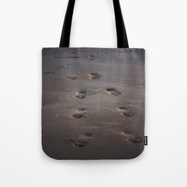 Burn In the Sand Tote Bag