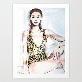 Beat The Heat Art Print