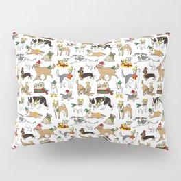 Christmas Dogs Pillow Sham
