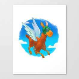 frequent flyer Canvas Print
