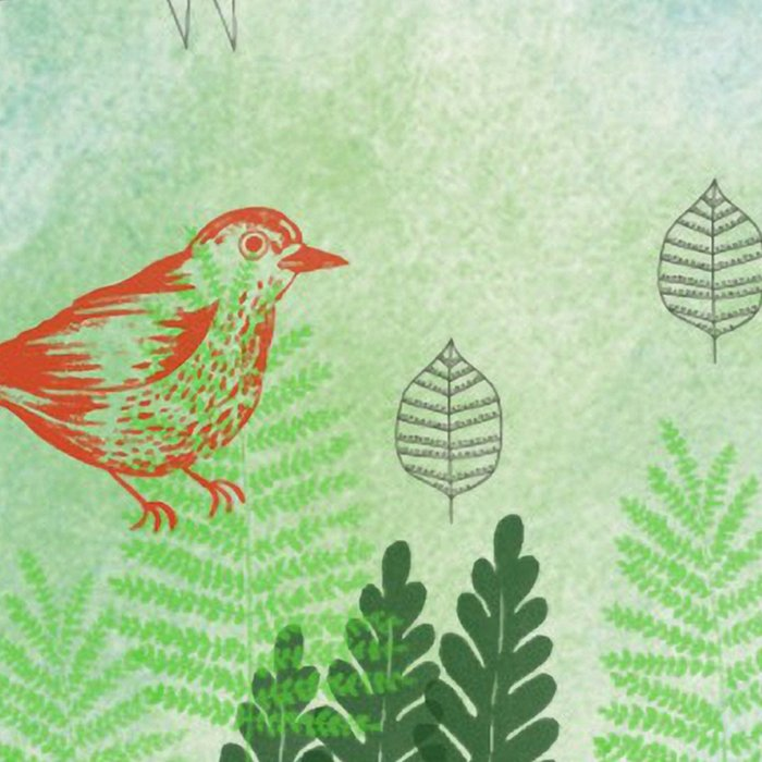 Birds and Leaves Leggings