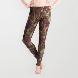 Give Me 5 [Hand Prints], Tan Leggings