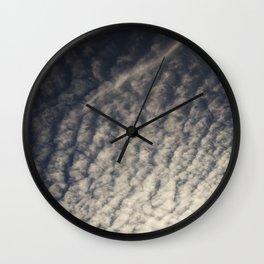 Cirrocumulus Clouds 9 Wall Clock
