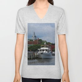 Annapolis Harbor Unisex V-Neck