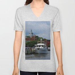 Annapolis Harbor Unisex V-Neck