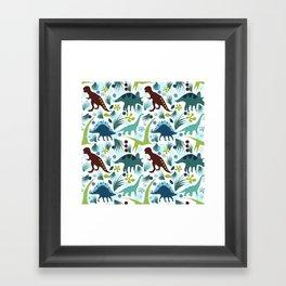 Dinosaur Days Framed Art Print