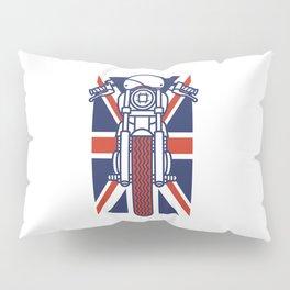 British Biker Pillow Sham