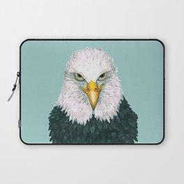 Bald eagle portrait Laptop Sleeve