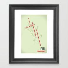 PHL Framed Art Print