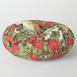 Christmas Unicorn Floor Pillow