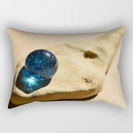 Blue eyed fish Rectangular Pillow