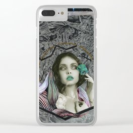Temptress Clear iPhone Case