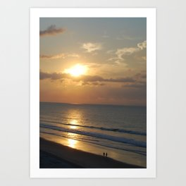 Atlantic Sunrise Art Print