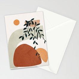 Soft Shapes I Stationery Cards