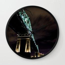Montreal Under bridge Wall Clock