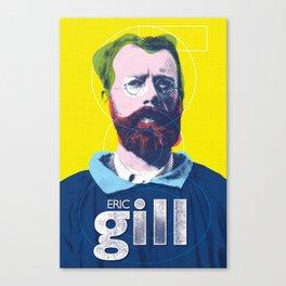 Eric Gill Canvas Print