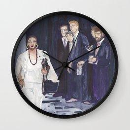 Alexandria Ocasio-Cortez Wall Clock