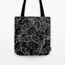 Fifty shades of Love (Dark) Tote Bag