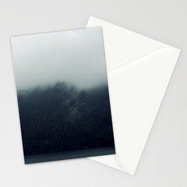 misty mountains 02 Stationery Cards