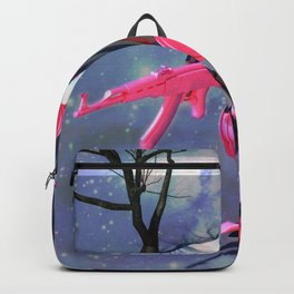 Run From The Giant Robot Rabbit Backpack