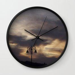 the lamp Wall Clock