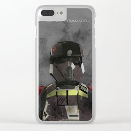Imperial Commando Clear iPhone Case