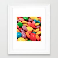 confetti Framed Art Prints featuring Confetti by Studio Laura Campanella