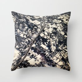 Instaspy Throw Pillow