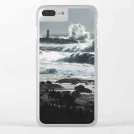 Storm of Grayson Clear iPhone Case