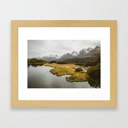 Alpine Marsh Framed Art Print