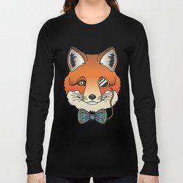 Dapper Fox Long Sleeve T-shirt