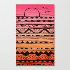 Surf Tribe Canvas Print