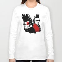 mozart Long Sleeve T-shirts featuring Beethoven Mozart Punk Composers by viva la revolucion