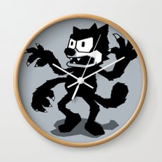 Cartoon Rejects Subject: Cat Wall Clock