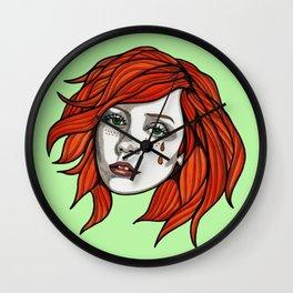 Irish Tattoo Flash Wall Clock
