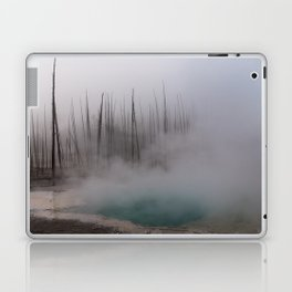 Steamy Hot Spring in Yellowstone Laptop & iPad Skin